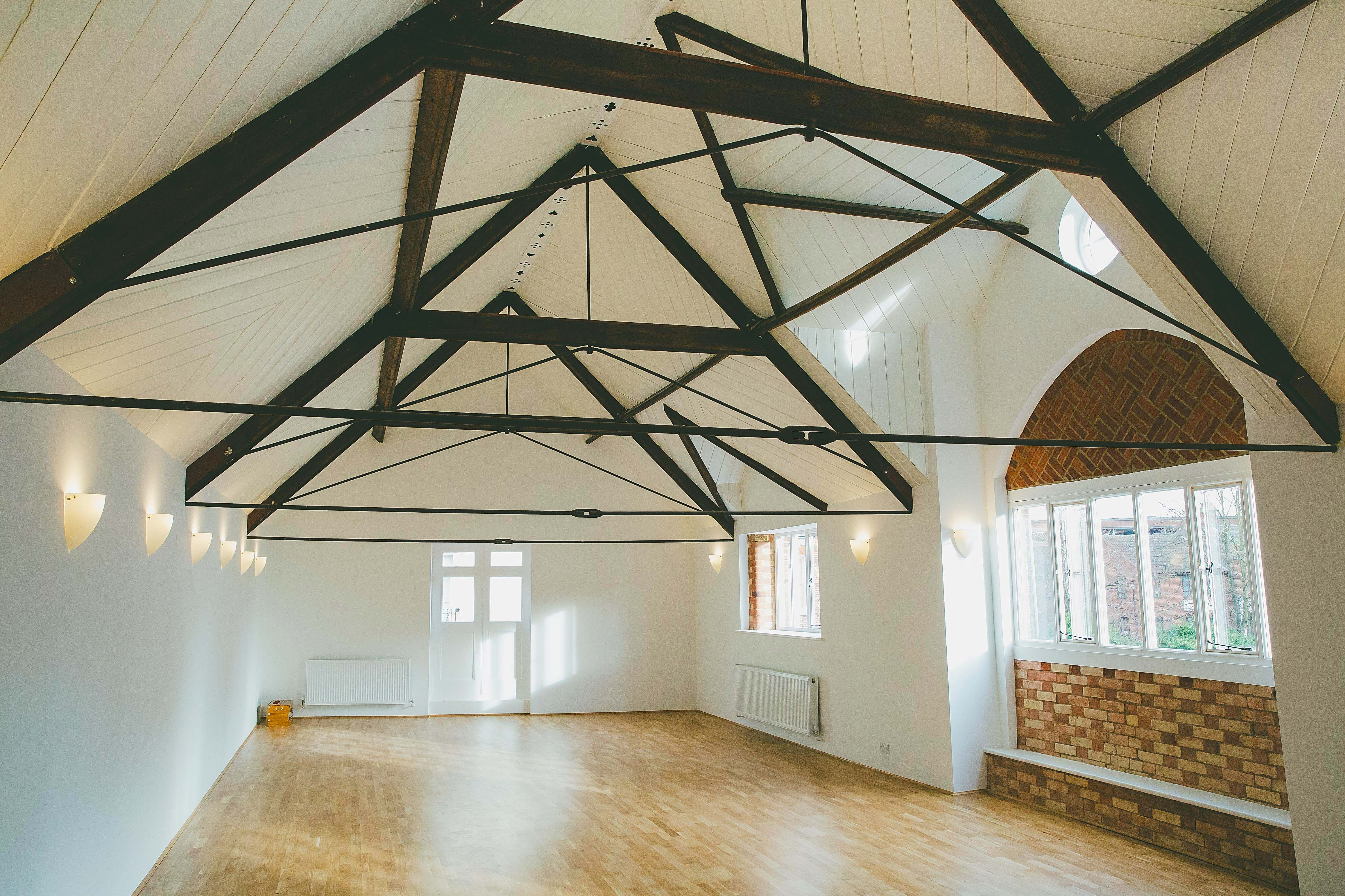 The Yoga Tree Centre Main Studio, photo by Rob Dodsworth Photography